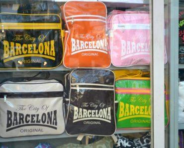 bags on las ramblas barcelona
